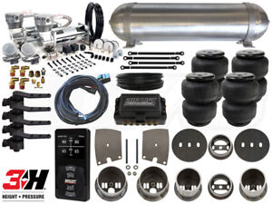 Complete Air Suspension Kit 1963 1965 Buick Riviera Level 4 W Air Lift 3h