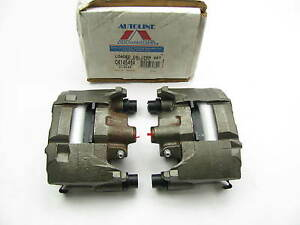 Remanufactured Autoline C414546a Front Disc Brake Caliper Set With Brake Pads