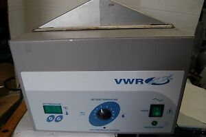 Vwr Digital Water Bath Waterbath Variable Temperature Sheldon Digital 1228 115v