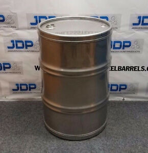 55 Gallon Stainless Steel Drum Stainless Steel Barrel With Sanitary Inside
