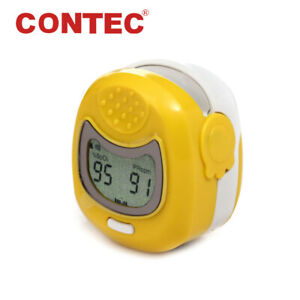 Kids Pediatric child Fingertip Pulse Oximeter Spo2 Pr Heart Rate Monitor cms50qa