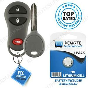 Replacement For Jeep 99 01 Cherokee 99 04 Grand Cherokee Remote Key Fob Set