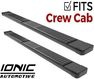 Ionic 51 Series Black Fits 2009 2013 Dodge Ram Crew Cab Running Boards Steps