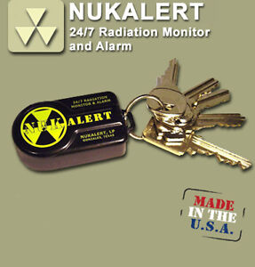 Nukalert Nuclear Radiation Detector Monitor Portable