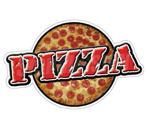 Pizza Concession 48 Decal Restaurant Window Menu New Cart Trailer Sticker