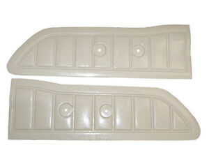 Ivory Door Panels Fits Ford Truck F100 F250 Custom Cab 1961 1964 1965 1966