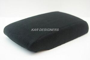 Fabric Black Center Console Lid Armrest Protection Cover Fit 07 12 Nissan Altima