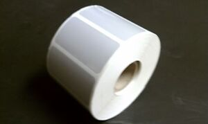 Silver Polyester Thermal Transfer 2 x1 labels For Zebra 2824 2844 gk gx 1 Roll