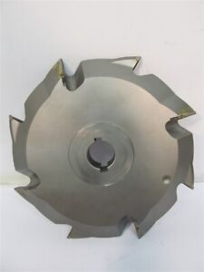 Leitz Woodworking Tools 735110651 Dia 60 9 30mm Bore V groove Cutter Used