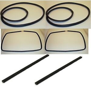 Pair Of Sliding Window Seal Kits Fits Willys Jeep Station Wagon