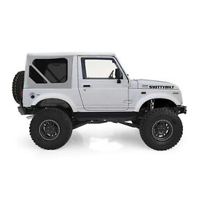 86 94 Soft Top Tinted Windows White Top Has Zip Out Windows For Suzuki Samurai