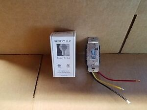 Sentry Switch Ss23277 20a 120 277vac Toggle 3way