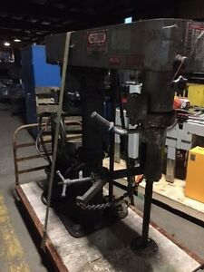 Myers Disperser Mixer Model 775e 7 5 Variable Speed 7 5 Hp