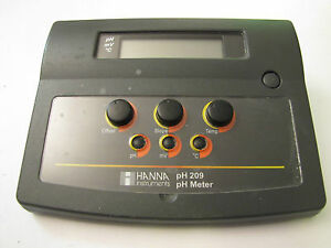 Hanna Instruments Ph209 Benchtop Ph mv Meter Ph 209 01 Bench Top