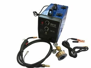 Electric Mig 140 Welder Welding Soldering Machine 110v 90 Amp 115 V Ac With Gaug