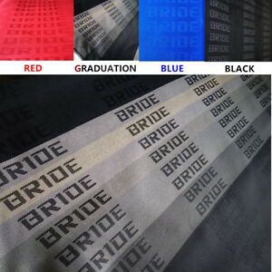 Jdm Bride Seat Cover Fabric Decorate Cloth For Racing Seats Recaro bride sparco