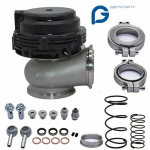 New Wastegate Mvs Black 44mm With V band And Flanges Mv s Free Priority