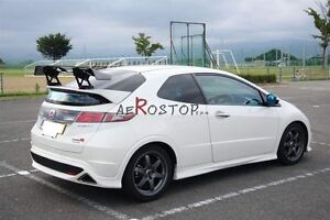 Carbon Fiber Typr r Voltex Type hs Style Gt Wing For Civic Fn2