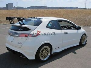 Frp Fiber Glass Typr r Voltex Type hs Style Gt Wing For Civic Fn2