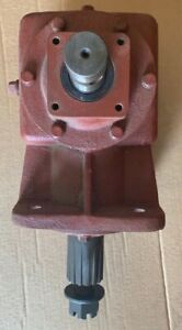 250618 Rc51 Skid Steer Cutter Gearbox 1 1 93 Ratio 1 3 8 Smooth Replacement