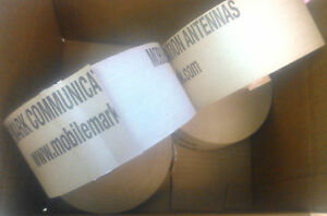 4 Rolls 3 X 450 Reinforced Gummed Paper Tape water Activated