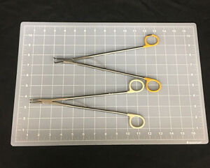 Ethicon Endo surgery Wire Forceps Lot Of 2 different