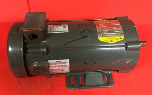 Used Baldor Dc Motor Cat No Cdp3455 1 Hp 1750 Rpm 180v Tefc