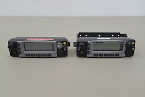 Lot Of 2 Control Heads For Motorola Xtl5000 Mobile Radio Analog P25 f13