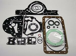 1955 1960 Buick Transmission External Seal Kit Dynaflow