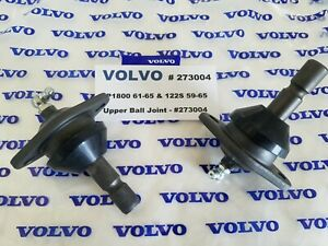 Volvo P1800 1961 1965 122s 1959 1965 Upper Ball Joint Set Of 2