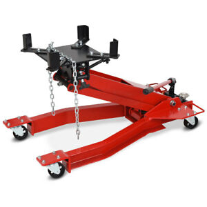 2200lb 1 Ton Low Profile Transmission Hydraulic Jack Auto Shop Repair Low Lift