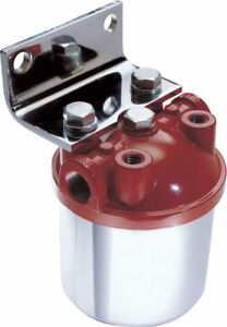Big End Performance Competition Chrome Canister Fuel Filter Bep11075