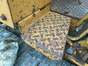 Case 850 Crawler Right Steel Cab Entry Step Ships Free