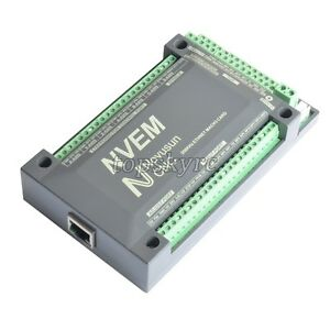 Cnc 4axis 200khz Ethernet Controller Card Breakout Interface Mach3 Board Us