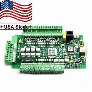 4axis Usbcnc Mach3 Stepper Motor Controller Breakout Board Interface Adapter Us