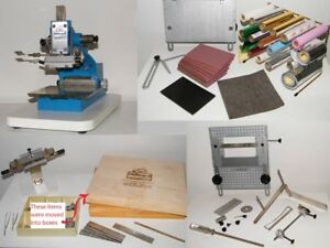 Howard Personalizer Imprinting Machine Hot Foil Stamping Includes Typesets