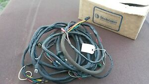 Nos 1963 64 65 66 Studebaker Station Wagon Rear Power Window Wire Harness