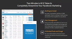 Post Unlimited Contents To Your Social Media Facebook twitter linkedin