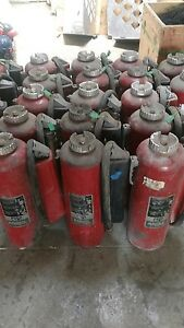 Ansul Lot Of 10 Fire Extinguisher 30lb Purple K Cartridge Operated