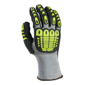 Mapa Exonit Grip And Proof 535 Impact Gloves Cut Level 2