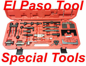 Volkswagen And Audi 4 Cylinder Gas And Diesel Timing Tool Kit