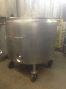 500 Gallon Tank Stainless Steel Jacketed Reciever