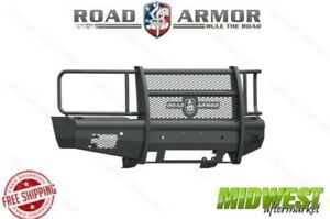 Road Armor Non Winch Insert Full Guard Front Bumper Fits 2015 17 Chevy 2500 3500
