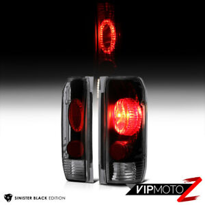 darkest Smoke For 87 96 Ford Bronco F150 F250 F350 Factory Style Tail Lights