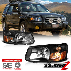 2003 2004 Subaru Forester Xt Xs Factory Style Headlights Lamps Replacement Set