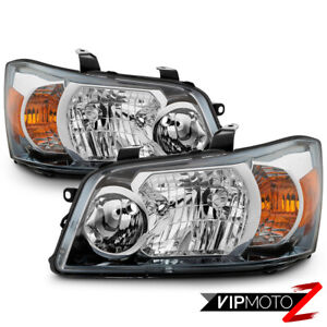2004 2006 Toyota Highlander Sport Hybrid Factory Style Headlights Lamps Pair