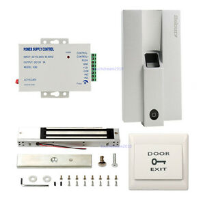 Wiegand Metal Bio Fingerprint Standalone Door Access Control System