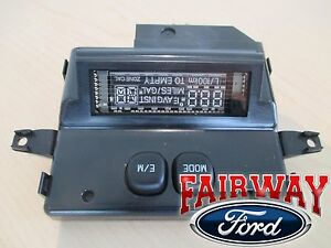 02 Thru 05 Excursion Oem Ford Overhead Console Message Center Indicator W o Roof