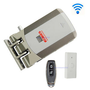 Wireless Door Lock Electric Home Anti theft Lock For Home Office Remote Control