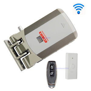Wireless Door Lock Electric Home Anti theft Lock For Home Office